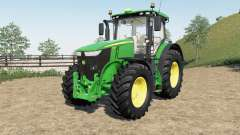 A John Deere 7230R-7310Ɍ para Farming Simulator 2017