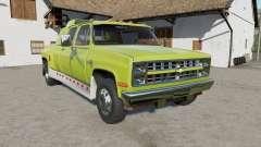 Chevrolet K30 Silverado Crew Cab Dually 1986 para Farming Simulator 2017