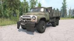 ZIL-130G 6x6 para MudRunner