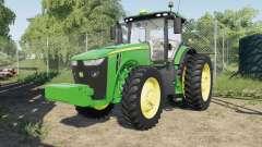 A John Deere 8245Ɍ-8400R para Farming Simulator 2017