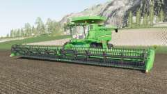 John Deere S700 two grain tank configurations para Farming Simulator 2017