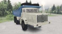 A MAZ-530-bege-cor azul para Spin Tires