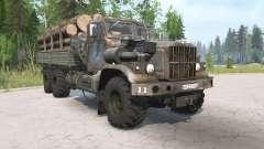 KrAZ-255B idade para MudRunner