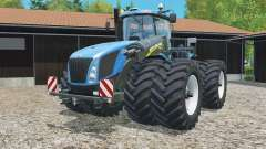 New Holland T9.565 with dynamic twin wheels para Farming Simulator 2015