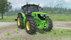 John Deere 6170R with weights para Farming Simulator 2013