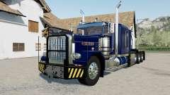 Peterbilt 389 Heavy blue, red, green para Farming Simulator 2017