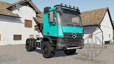 Mercedes-Benz Arocs AS 4x4 para Farming Simulator 2017