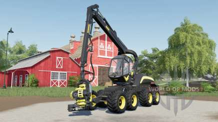 Ponsse ScorpionKing with the small difference para Farming Simulator 2017