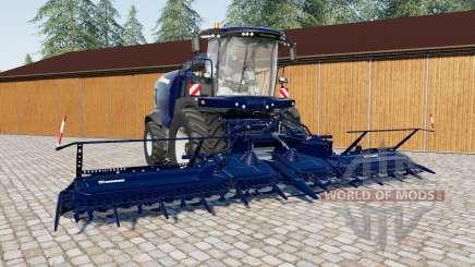 Krone Grande Ꭓ 1100 para Farming Simulator 2017