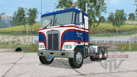 Kenworth K100 power steering para Farming Simulator 2015