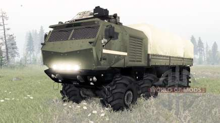 KamAZ-53958 Torado para Spin Tires
