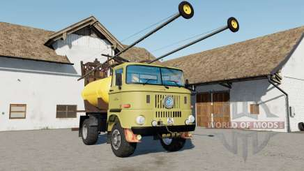 IFA W50 Sprayer mirrors reflect para Farming Simulator 2017