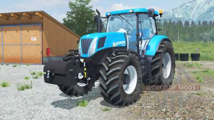 New Holland T7.220 with weight para Farming Simulator 2013