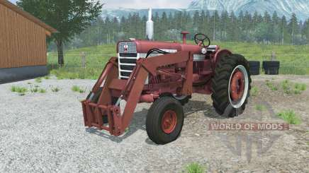 Farmall 560 with front loader para Farming Simulator 2013