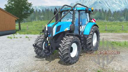 A New Holland T7050 Foreꜱt para Farming Simulator 2013