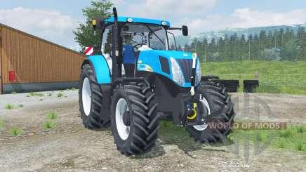 New Holland T7040 front loader para Farming Simulator 2013