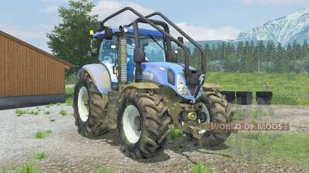 New Holland T7.210 Forest para Farming Simulator 2013