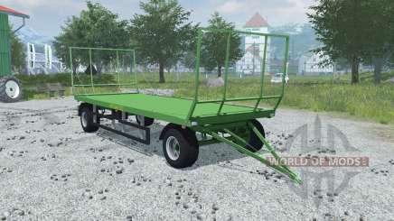Pronar T022 folding front and rear wall para Farming Simulator 2013