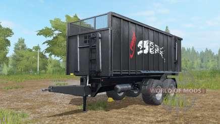 Fliegl TMK 266 Preto Panteᵲ para Farming Simulator 2017