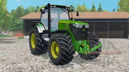 A John Deere 7ろ10R para Farming Simulator 2015