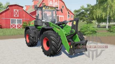 New Holland W190D added several tires para Farming Simulator 2017