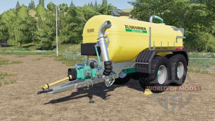 Zunhammer SKE 18.5 PUD with halved consumption para Farming Simulator 2017