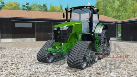 A John Deere 7310R Quadtraƈ para Farming Simulator 2015