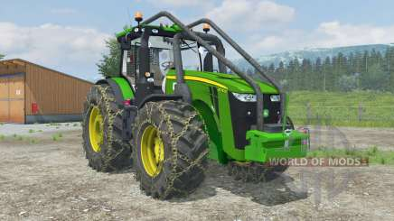 John Deere 8310R Forest Edition para Farming Simulator 2013