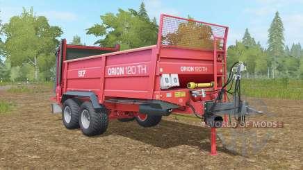 SIP Oᵲion 120 TH para Farming Simulator 2017