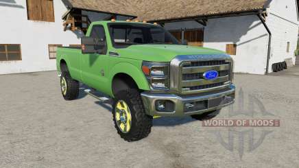 Ford F-350 Super Duty Regular Cab 2011 para Farming Simulator 2017
