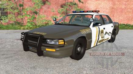 Gavril Grand Marshall Mano County Sheriff v1.1 para BeamNG Drive