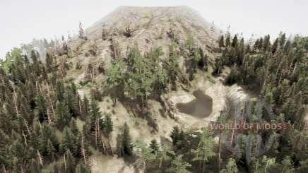 Vale do vulcão para MudRunner