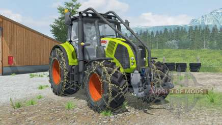 Claas Axion 850 Forest Edition para Farming Simulator 2013