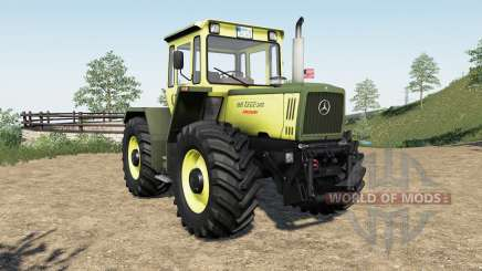 Mercedes-Benz Trac more tire configuration para Farming Simulator 2017