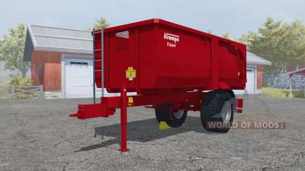 Krampe Big Body 500 E with much larger capacity para Farming Simulator 2013