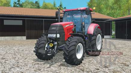 Case IH Puma 160 CVX frente loadeᵲ para Farming Simulator 2015