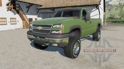 Chevrolet Silverado 2500 HD Regular Cab 2006 para Farming Simulator 2017