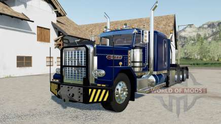 Peterbilt 389 Heavy blue, red, green para Farming Simulator 2017
