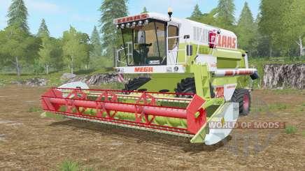 Claas Mega 208 Dominator para Farming Simulator 2017