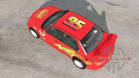 Hirochi Sunburst Lightning McQueen para BeamNG Drive