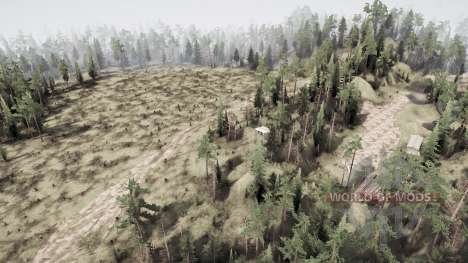 Plain Hills para Spintires MudRunner