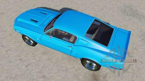 Shelby GT500 1968 para Farming Simulator 2017