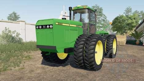 John Deere 8000 para Farming Simulator 2017