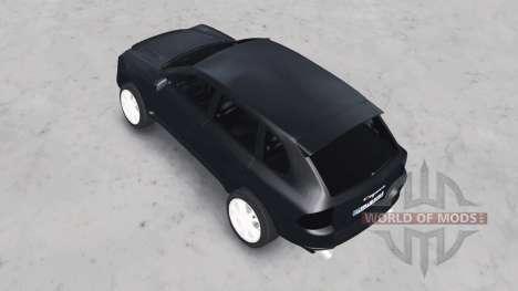 Porsche Cayenne Turbo (955) 2003 para Spin Tires