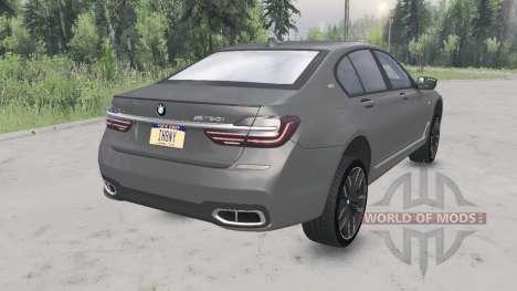 BMW M760i xDrive (G11) 2017 para Spin Tires