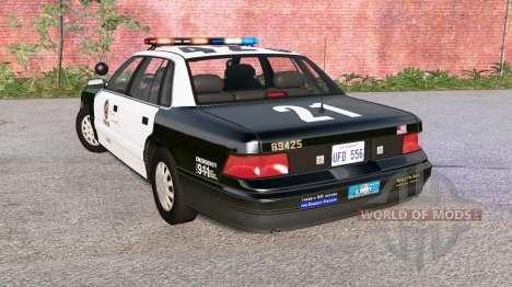 Gavril Grand Marshall LAPD para BeamNG Drive