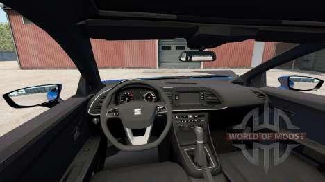 Seat Leon (5F) 2017 para American Truck Simulator