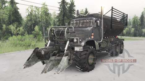 KrAZ-255B Mad Max. para Spin Tires