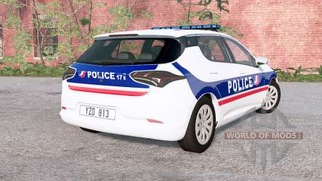 Cherrier FCV National Police v0.2 para BeamNG Drive