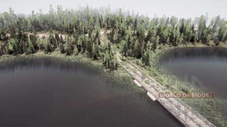 Forest Lakes para Spintires MudRunner